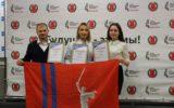 Награждение победителей регионального этапа Всероссийского конкурса «Лидер XXI века»
