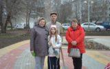 Семьи работников образования приняли участие в посадке рябиновой аллеи «Счастливая семья»