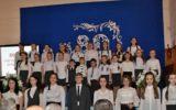 19 марта школа отметила свой 80 - летний Юбилей